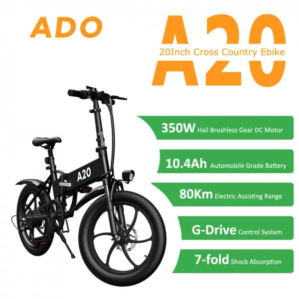 Ado A20 Folding Electric Bike
