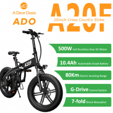 Ado A20F 500w Folding Electric Bike